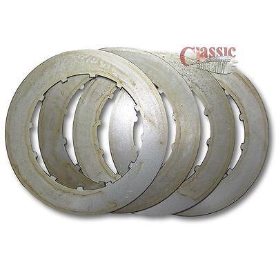 BSA PLAIN CLUTCH PLATES SET OF 4 57 2725 BSA C15 B25 B40 B44 B50 TRIU