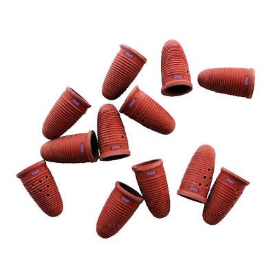 molded rubber finger cots large 12 pcs