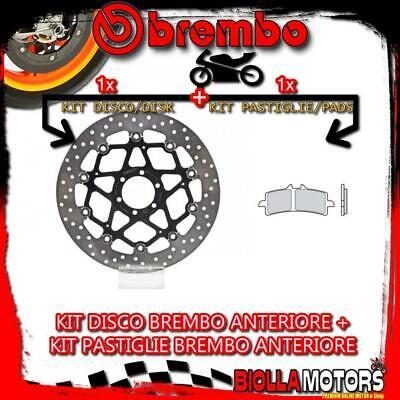 KIT-7BH2 DISCO E PASTIGLIE BREMBO ANTERIORE KTM DUKE R 690CC 2014- [GENUINE+FLOT segunda mano  Embacar hacia Spain