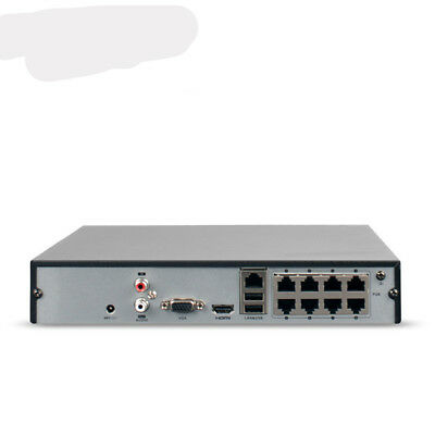 1pc New Hikvision Ds-7808n-f18p 8-channel Poe Network Monitoring Dvr