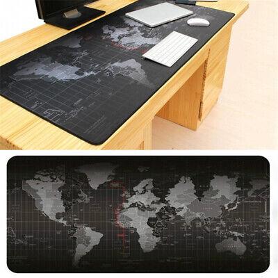 Weltkarte Extended Gaming Maus Pad Laptop Verdickung PC XXL Mauspad 800x300x3mm (Gaming-maus-pad, Pc)