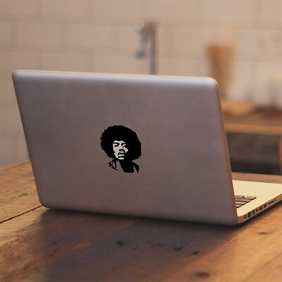 "Glowing Jimi Hendrix for Macbook Air/Pro 11"" 13"" 15"" 17"" Vinyl Decal Sticker"