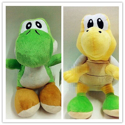 2pcs Set Super Mario Bros. Yoshi and Koopa Troopa 9