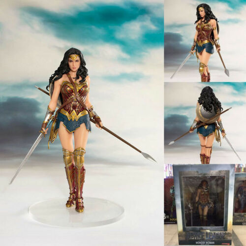 ARTFX Justice League Wonder Woman 1//10 PVC Figure Statue Toy Gifts