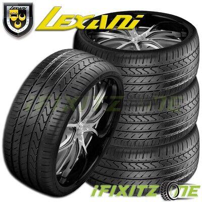 4 Lexani LX-Twenty 245/35R20 95W XL Ultra High Performance Tire 245/35/20 New