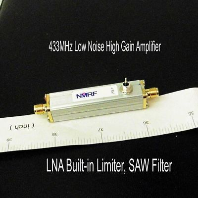 433mhz Low Noise High Gain Amplifier Lna Built-in Limiter Saw Filter