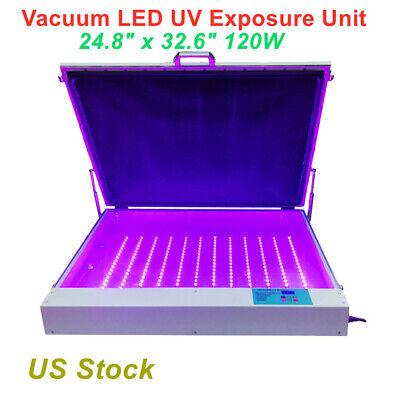 24.8 X 32.6 110v Tabletop Precise Screen Printing Vacuum Led Uv Exposure Unit