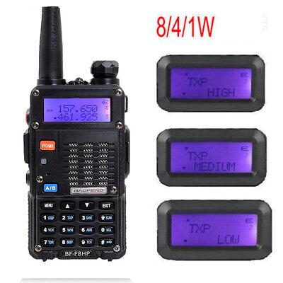 Baofeng BF-F8HP 8W Walkie Talkie Dual Band TRI-POWER (UV-5R 3rd) Two Way Radio