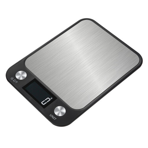 5/10kg LCD Digital Electric Kitchen Weight Scale Postal Diet Food Weigh Balance~