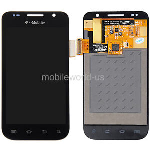 Black LCD Touch Screen Digitizer Assembly for Samsung Galaxy S 4G SGH-T959V