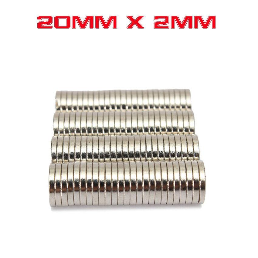 Powerful Disc Rare Earth Neodymium Magnets Magnet 20*2mm 1728
