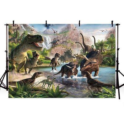 Jurassic Park Dinosaur Birthday Party Custom Backgrounds Photo Studio - Jurassic Park Birthday Party