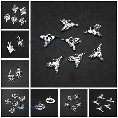 Wholesale Tibetan Silver Metal Charms Loose Spacer Beads Jewelry Making Findings