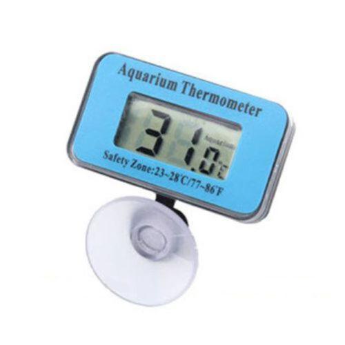 Blue Digital LCD Aquarium Fish Tank Waterproof Temperature Thermometer Meter US