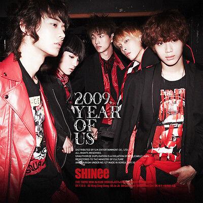 SHINEE [2009 YEAR OF US] 3rd Mini Album CD+Photo Book+GIFT CARD K-POP SEALED