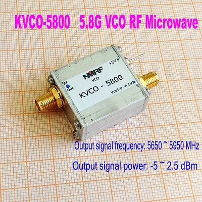 New 5.8g 5800mhz Vco Rf Microwave Vco Sweep Source Signal Generator