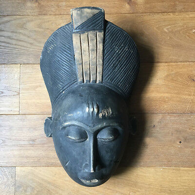 Antique Mask African Baoulé Ivory Coast - Arts First - Art Tribale
