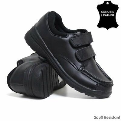 Boys Leather School Shoes Smart Wedding Scuff Resistant Back To School Shoes - Back To School Boys Shoes