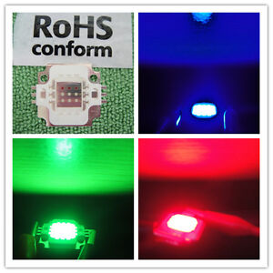 3pc-NEW-10W-RGB-red-green-blue-LED-10-Watt-Lamp-Bright-Light-Power-9V-12V-DC-DIY