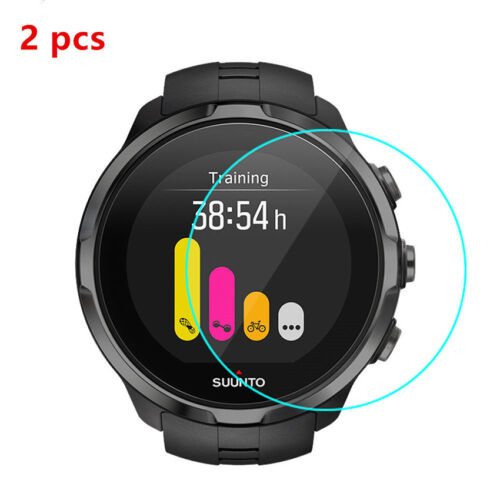 2Pcs 9H+ Tempered Glass Film Screen Protector For Suunto Spartan Sport watch