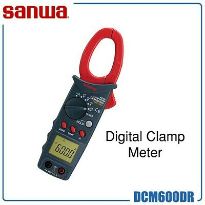 New Dcm600dr Sanwa Clamp Meter - Fast Canada Shipping
