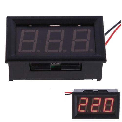 Useful LED AC 60-500V Voltmeter Two-wire Digital 220V Voltage Panel Meters RED