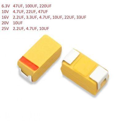 3216 3528 Tantalum Capacitor Smdsmt 10v-25v 2.23.34.710223347220 Uf