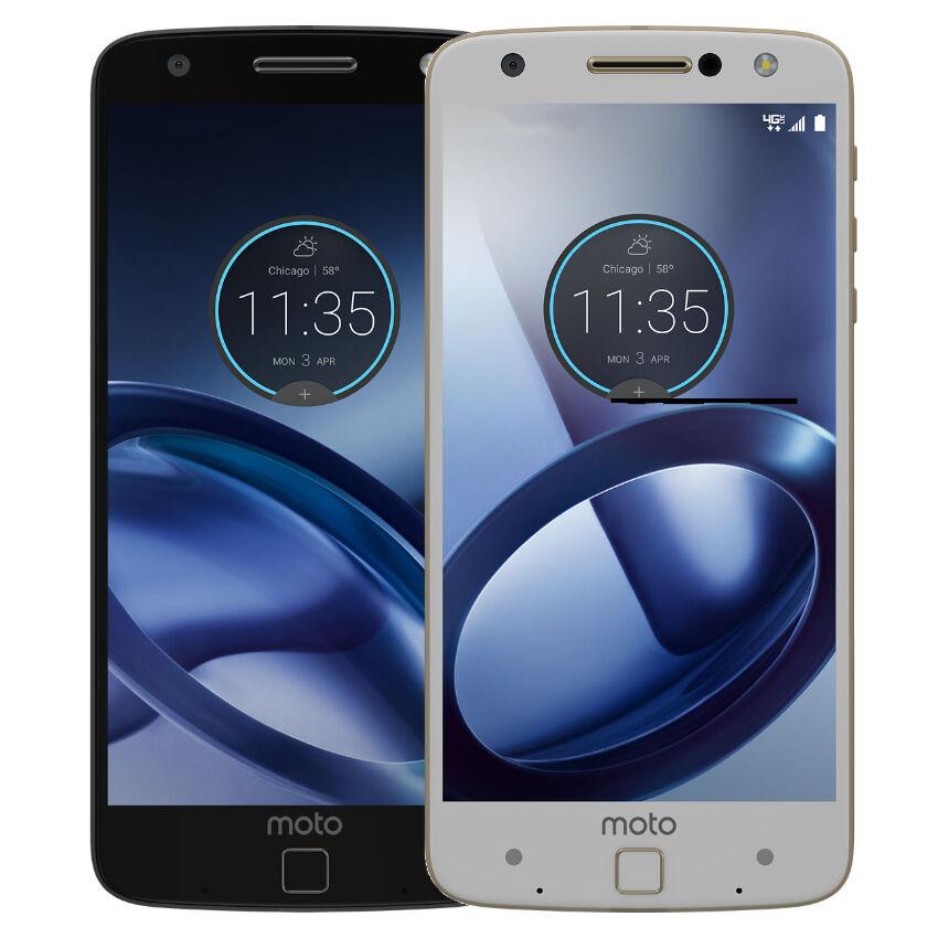"Android Phone - Motorola XT1650 Moto Z Droid ""Factory Unlocked"" 4G LTE 32GB Smartphone"