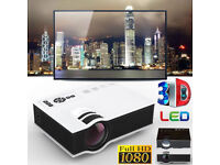 BRAND NEW,,Excelvan UC40,, 800 Lumens Support,1920*1080,Portable Mini LED Projector