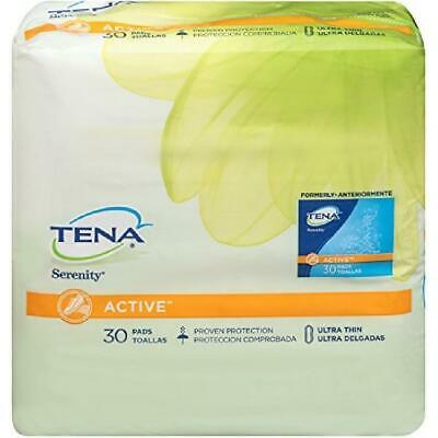 Incontinence Pads For Women (TENA Incontinence Ultra-Thin Pads for Women, Light, Regular, 30 Count )