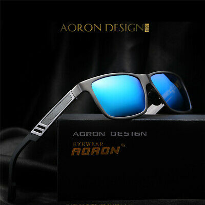 Mens Gents Aluminum Polarized Driving Sunglasses Mirrored Sun Glasses (Gents Sunglasses)