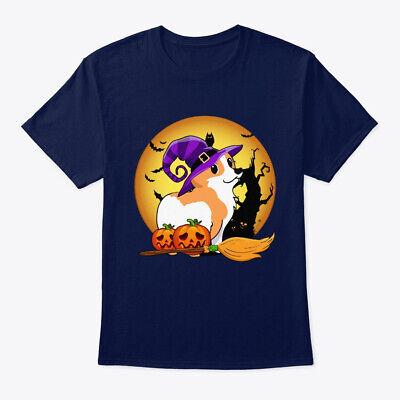 Happy Halloween Lover (Happy Corgi Halloween For Witch Lover Hanes Tagless Tee)