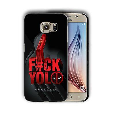 Super Hero Deadpool Samsung Galaxy S4 5 6 7 8 9 10 E Edge Note Plus Case n3