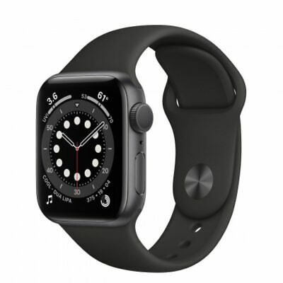 Smartwatch Apple Watch Serie 6 GPS 40mm CASSA Alluminio SpaceGrey CINTURINO Nero