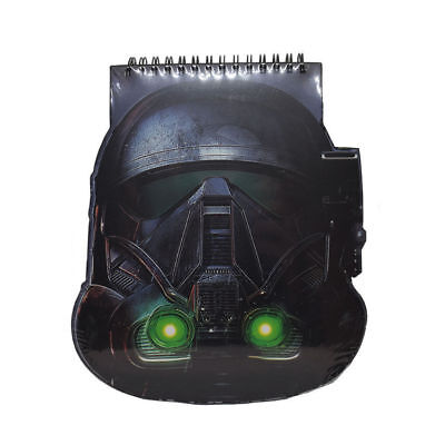 A5 Shark Trooper Deluxe Shaped Notebook Star Wars Hardback Rogue One Lined