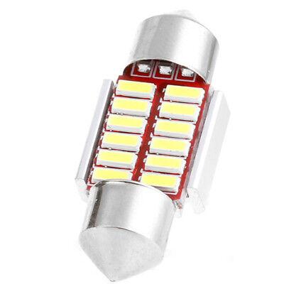 2pcs 31mm 4014 12SMD C5W LED Light Canbus Festoon Dome Car Interior Reading Lamp