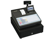 Sharp Cash Register XE-A217B Thermal printer. Flat keyboard only used 2 months