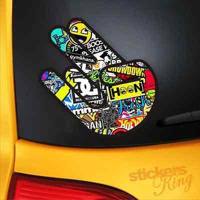 JDM STICKER BOMB SHOCKER Funny Car/Bumper/Window Vinyl Decal VW HONDA EURO DUB