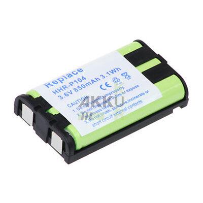 Telefonakku füt  PANASONIC / GE ersetzt  HHR-P104  850mAh Akku Accu Battery Batt