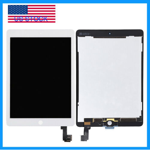 LCD Display Screen Glass Touch Digitizer For iPad Air 2 A1566 A1567 Replace Part