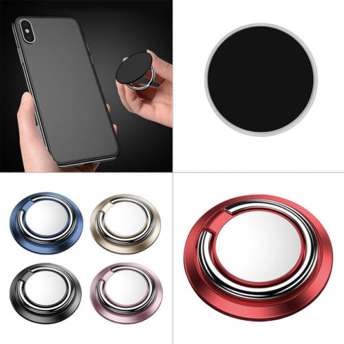 360° Metal Magnetic Finger Ring Stand Car Holder For iPhone Samsung Cell Phones