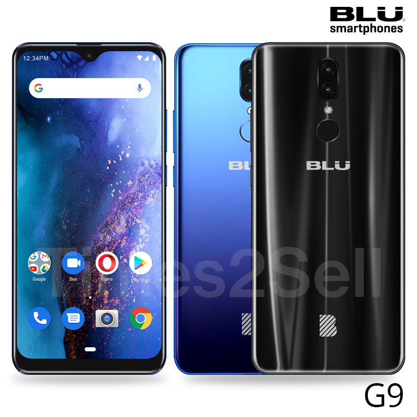 """Android Phone - BLU G9 G0130WW 6.3"""" 64GB 4G LTE Dual SIM Android GSM Unlocked Smart Phone New"""