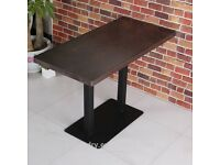 22 RESTAURANT/CAFE TABLE TOPS Sm France Solo Wenge ( 18 Rectangle & 4 Square )