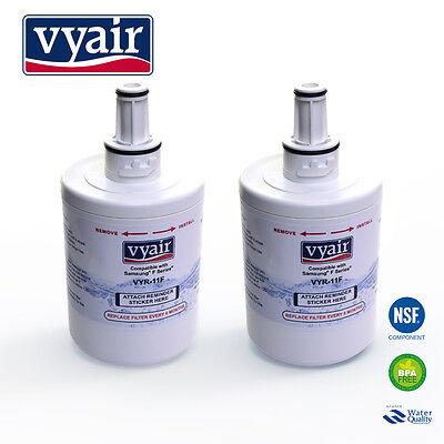VYAIR DA29-00003F Ice & Water Filter for Samsung Aqua Pure PLUS Fridge x 2