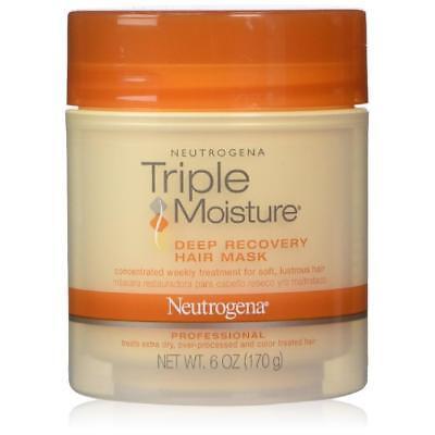 Hair Recovery - Neutrogena Triple Moisture Deep Recovery Hair Mask, 6 Ounce