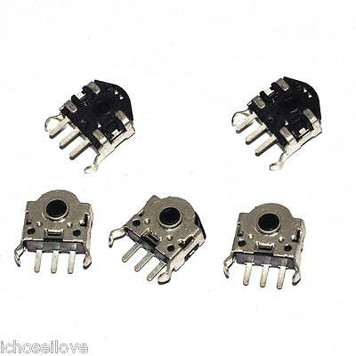 5pcs Mouse Encoder Wheel Encoder Repair Parts Switch 5mm
