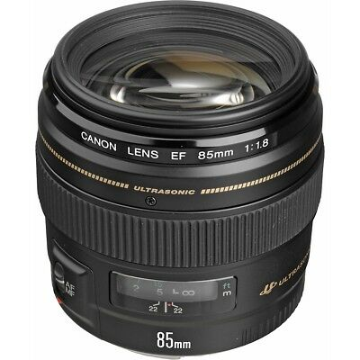 Canon EF 85mm f/1.8 USM Objektiv F1.8 - Neu