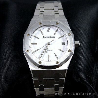 RARE AUDEMARS PIGUET ROYAL OAK STAINLESS STEEL 3842 MENS WATCH W/ APPRAISAL