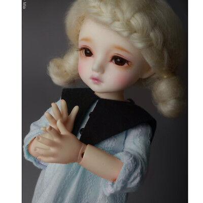 Ivory 1//6 BJD YOSD USD   Dear Doll Size Vanilla Race Hood Blouse Dollmore