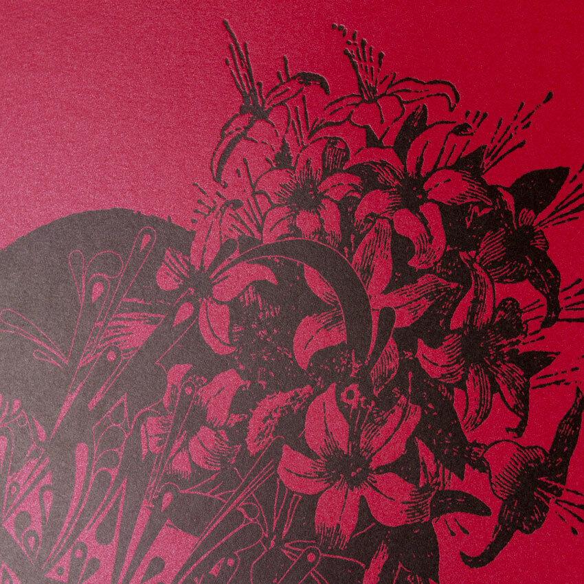 Stinkfish - The Flower Girl 1949 Red Ed. Ltd Ed. Print Signed /25 W/ COA - $175.00